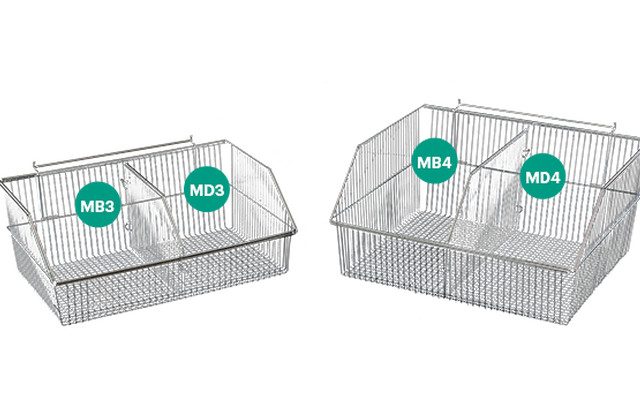 Mesh Basket Dividers