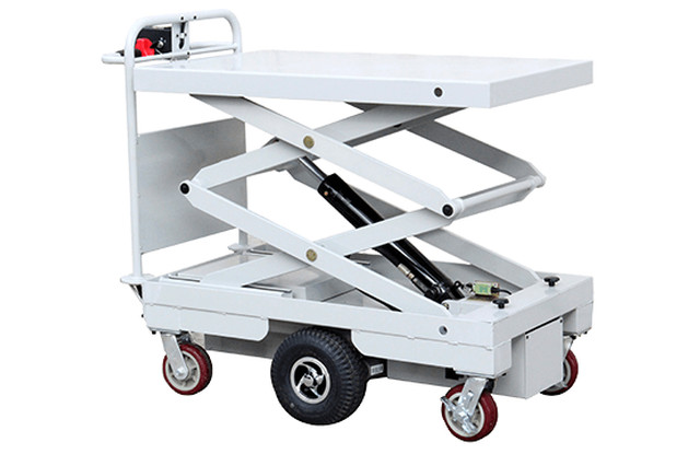 Battery Driven Powerlift Fluids Trolley